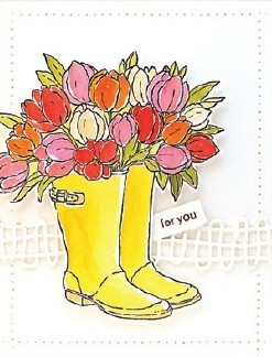 Cling - Blooming Boots