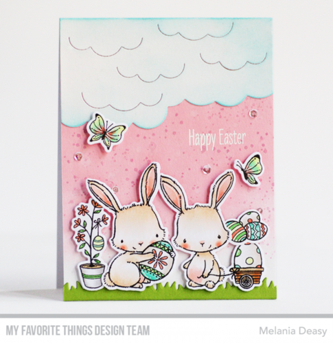 Clear Set - Easter Bunnies