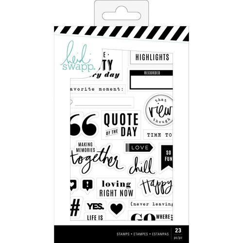 Heidi Swapp Color Fresh Clear Stamps