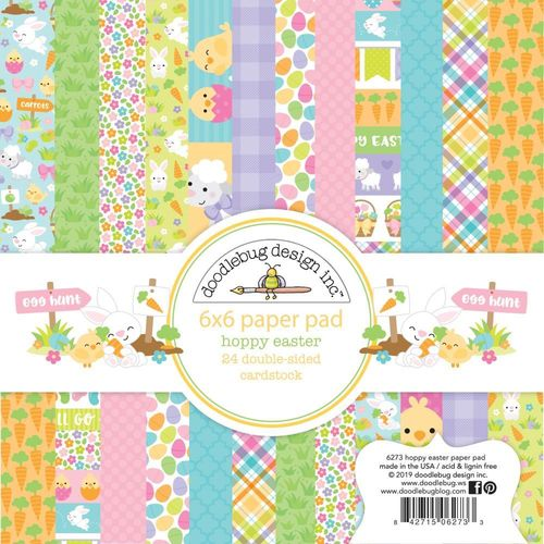 "Hoppy Easter Pad 6""X6"""