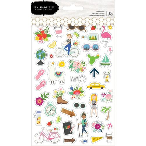 Chasing Adventures Clear Stickers