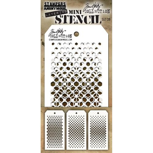 Tim Holtz Mini Layered Stencil Set #39