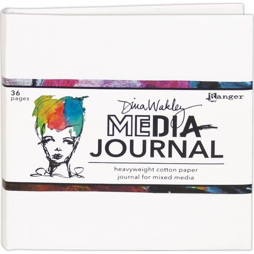 "Dina Wakley Media White Journal 6""X6"""