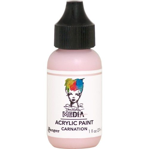 Dina Wakley Media Acrylic Paint - Carnation