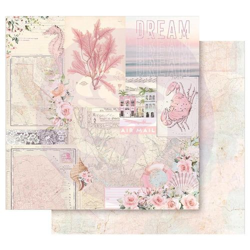 "Golden Coast Double-Sided Cardstock 12""X12"" - California Dreaming"