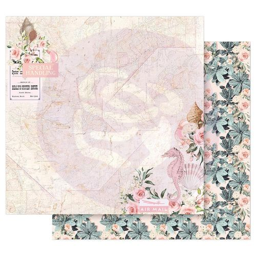 "Golden Coast Double-Sided Cardstock 12""X12"" - Golden Heart"