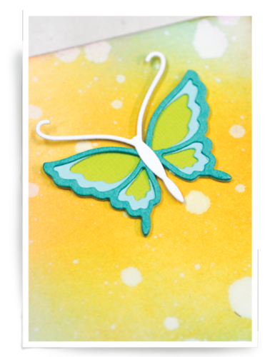 Stanzschablone Genevieve Butterfly Layer Set