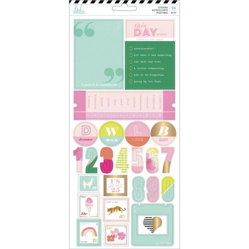 Heidi Swapp Color Fresh Cardstock Stickers