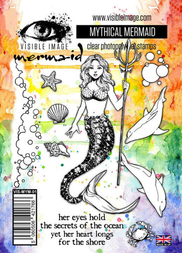 Clear - Mythical Mermaid