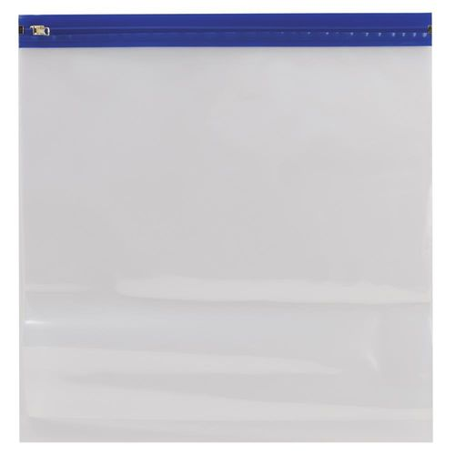"Zipafile Bags 14""X13"" - Blue"