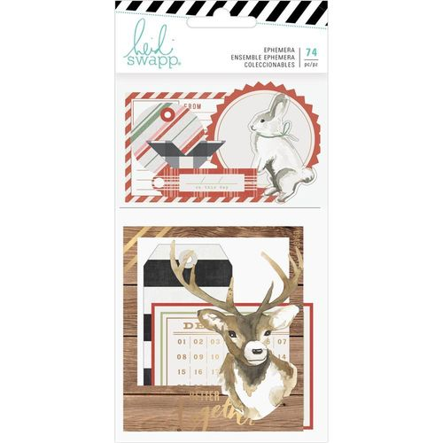 Heidi Swapp Winter Wonderland Ephemera Die-Cuts
