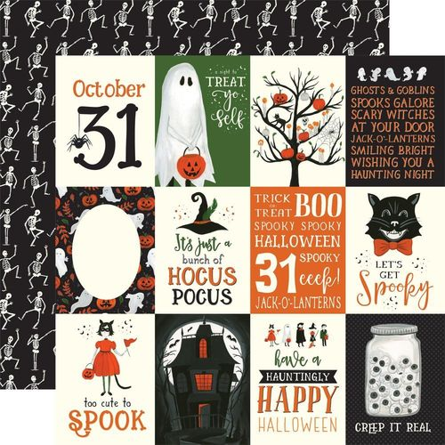 "Papier Trick Or Treat - 3""X4"" Journaling Cards"
