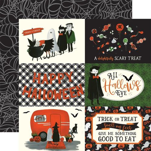 "Papier Trick Or Treat - 4""X6"" Journaling Cards"
