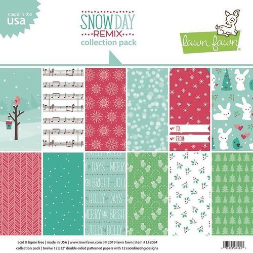"Snow Day Remix Collection Pack 12""x12"""