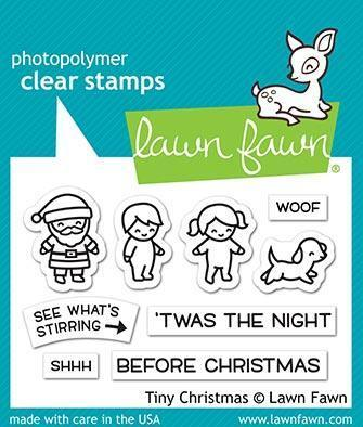 Clear Stamp - Tiny Christmas