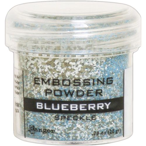 Embossingpulver Speckle - Blueberry