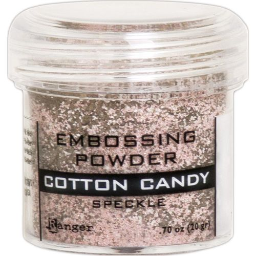 Embossingpulver Speckle - Cotton Candy