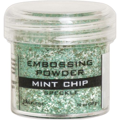 Embossingpulver Speckle - Mint Chip