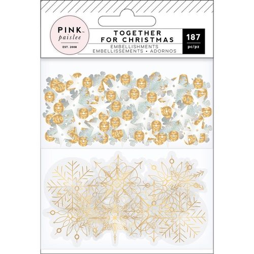 Together For Christmas Mixed Embellishments