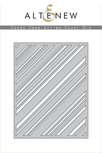 Stanzschablone Candy Cane Stripe Cover