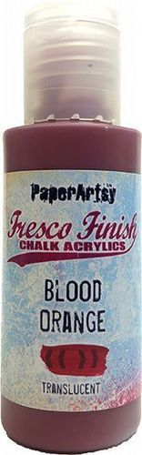 Fresco Finish Chalk Acrylic - Blood Orange