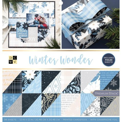 "Winter Wonder Pad 12""x12"""