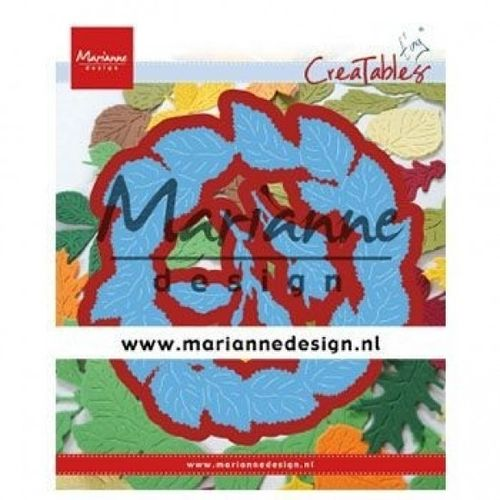 Stanzschablone Marianne Design - Creatables Tiny Leaves Wreath