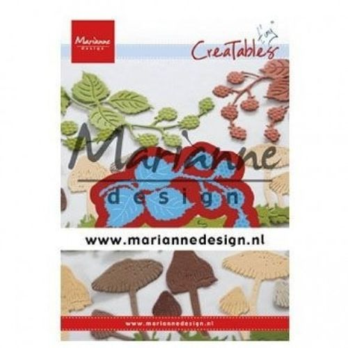 Stanzschablone Marianne Design - Creatables Tiny Blackberries