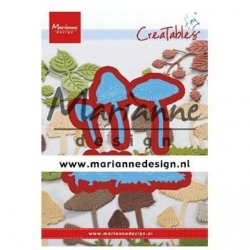 Stanzschablone Marianne Design - Creatables Tiny Mushrooms