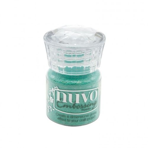 Nuvo Embossing Powder - Turquoise Lagoon