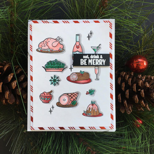 Holiday Meal Stamp & Cut