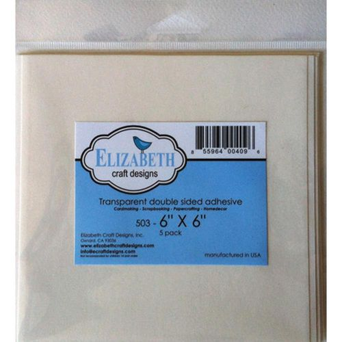 Elizabeth Craft Clear Double-Sided Adhesive Sheets