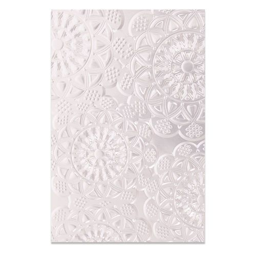 Textured Impressions Embossing Folder - Doily
