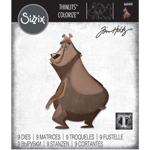 Sizzix Thinlits - Tim Holtz Theodore Colorize