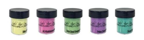 Lindy's Stamp Gang 2-Tone Embossing Powders - Drop Dead Diva