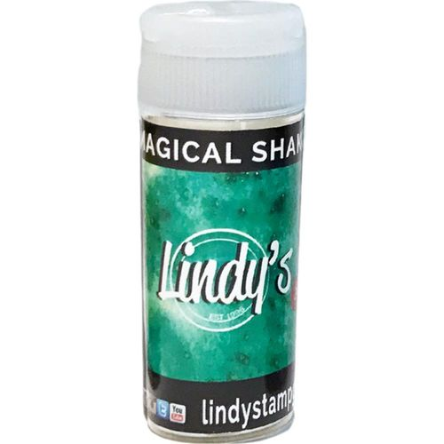 Lindy's Stamp Gang Magical Shaker - Lederhosen Teal