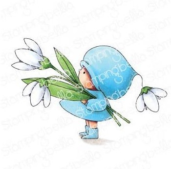 Cling - Bundle Girl With A Snowdrop
