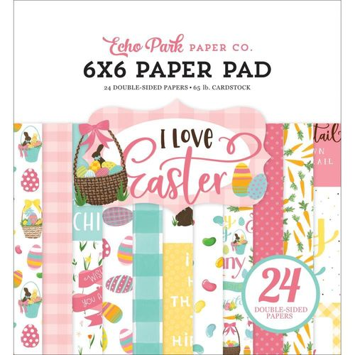 "I Love Easter Pad 6""X6"""