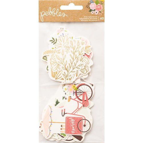 Lovely Moments Ephemera Cardstock Die-Cuts