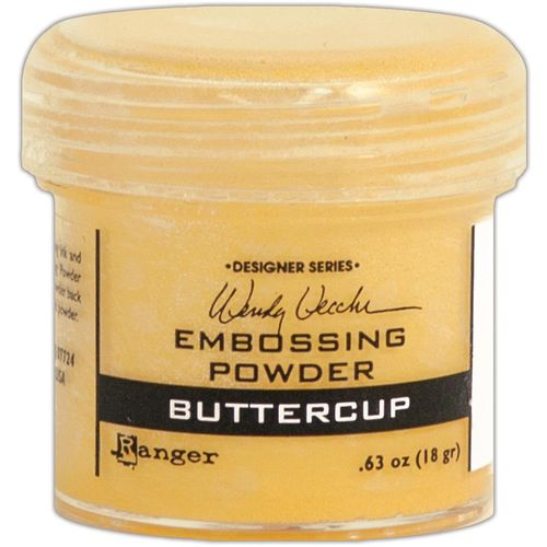 Embossingpulver Buttercup