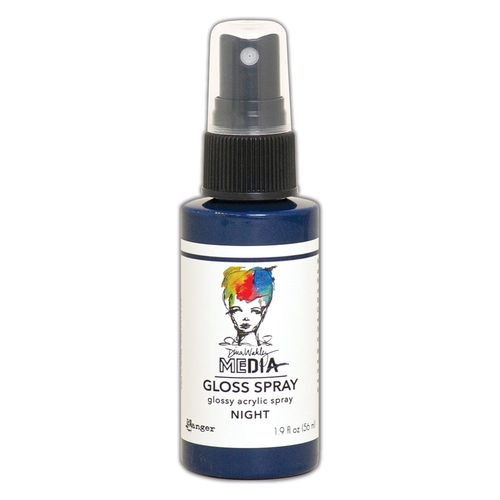 Dina Wakley Media Gloss Spray - Night