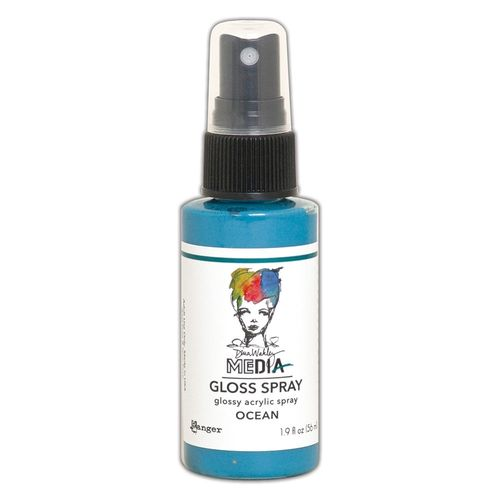 Dina Wakley Media Gloss Spray - Ocean