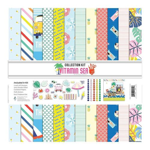 "Vitamin Sea Collection Kit 12""X12"""