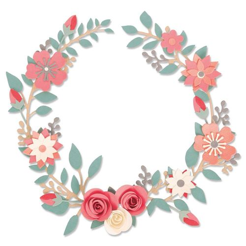 Sizzix Thinlits - Wedding Wreath