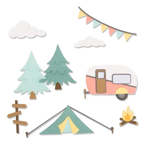 Sizzix Thinlits - Great Outdoors