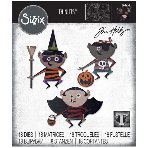 Sizzix Thinlits - Tim Holtz Trick or Treater