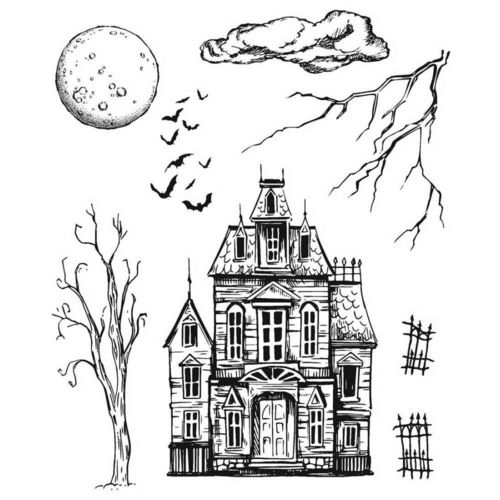 Sketch Manor (Cling Set)