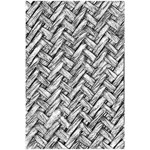 Tim Holtz Texture Fades Embossing Folder - Intertwined
