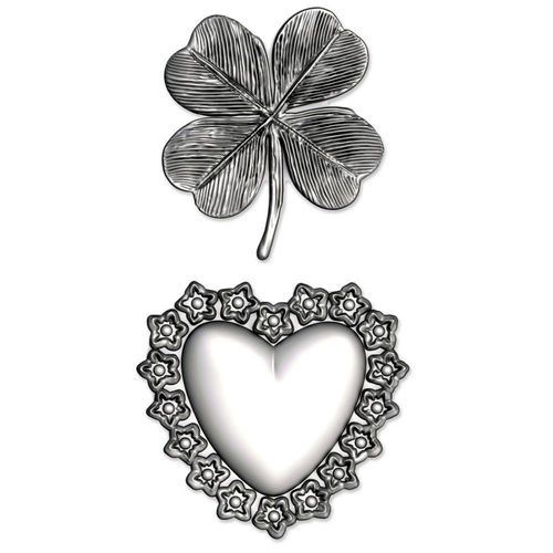 3D Impresslits Embossing Folder - Lucky Love
