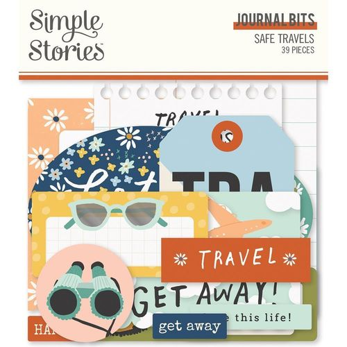 Safe Travels Bits & Pieces Die-Cuts - Journal
